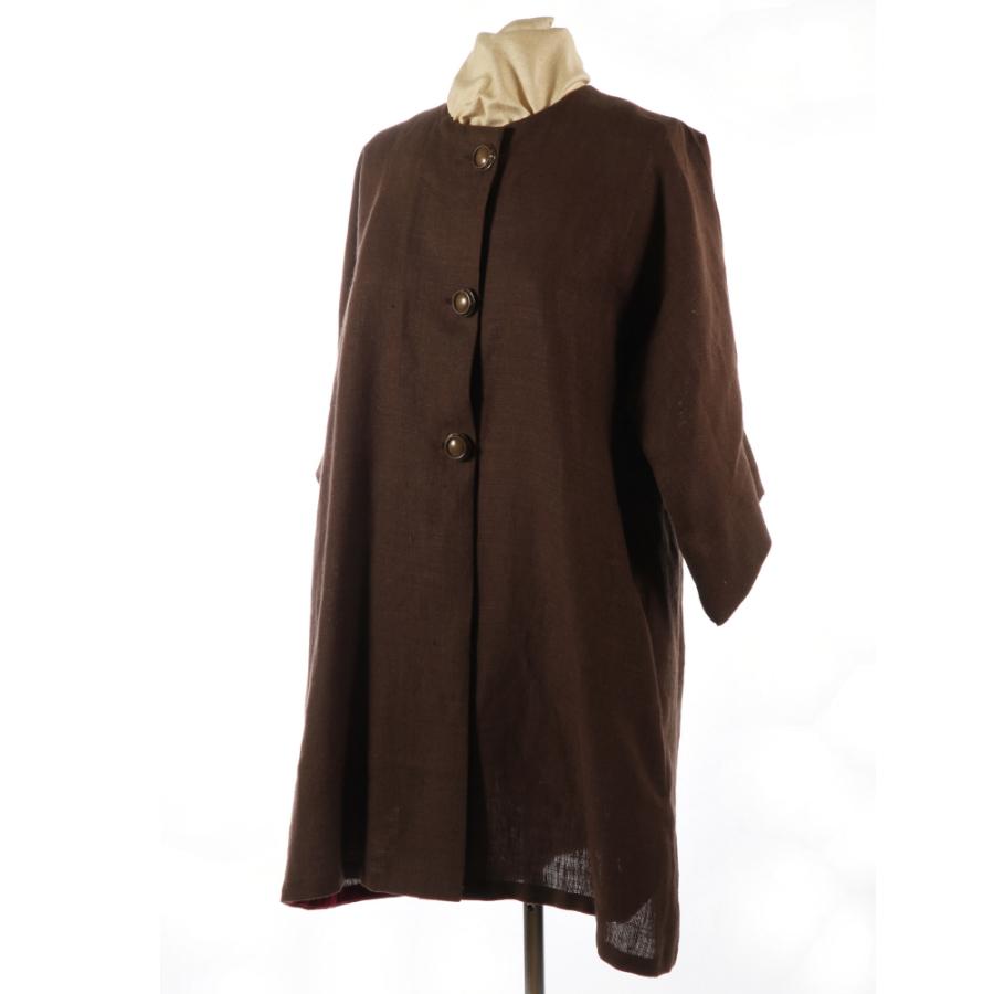 BROWN ~ LINEN & COTTON ~ Women German Austria Summer Dress Suit Blouse JACKET M See more like this J. Peterman Women's Tan Linen W/ Brown Suede Trim Equestrian Collar Jacket Sz .
