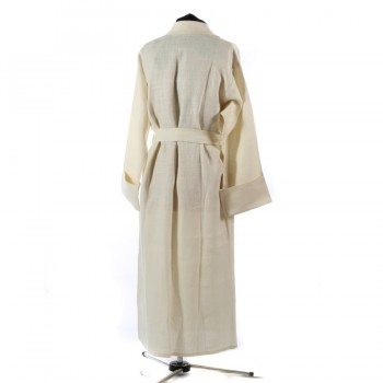 White Dressing Gown Reverse