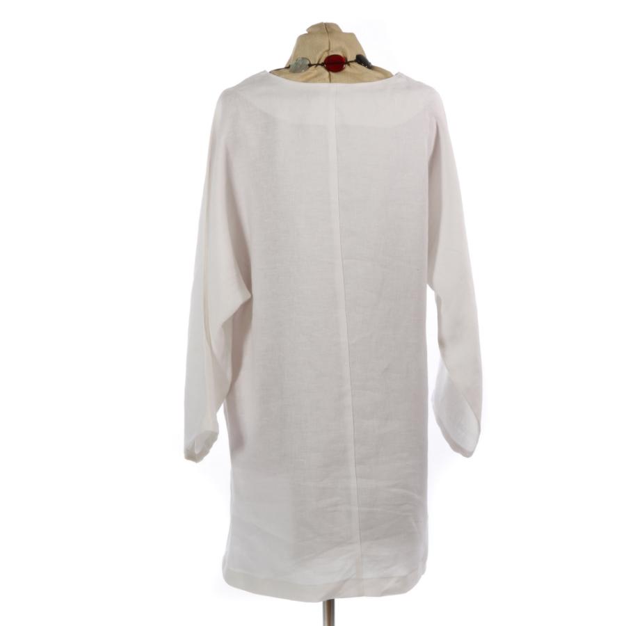ff22220cd8 white linen tunic dress